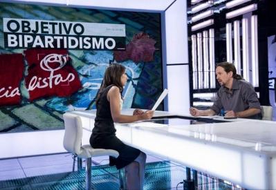 """Pablo Iglesias en """"El objetivo"""" (con Ana Pastor)"""