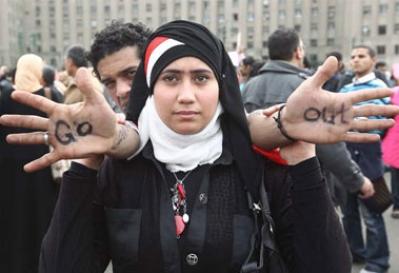 Lluvia seca: La negación israelí y las revueltas de Egipto