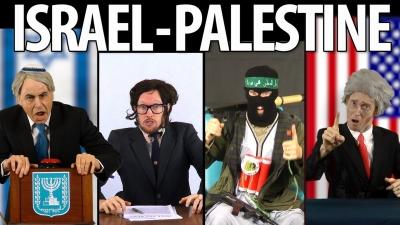 Israel vs Palestina - feat. DAM & Norman Finkelstein [Rap News 24]